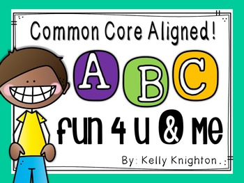 Alphabet Recognition, Formation & Phonemes: Materials for Centers, RTI, & Groups
