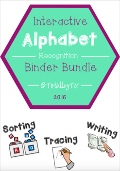 Interactive Alphabet Binder Bundle