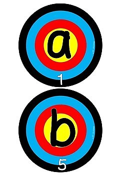 Alphabet Recognition / Letter Identification - Assessment Sheet Included