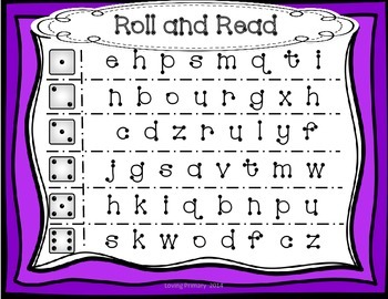 Alphabet Recognition Literacy Center Activities