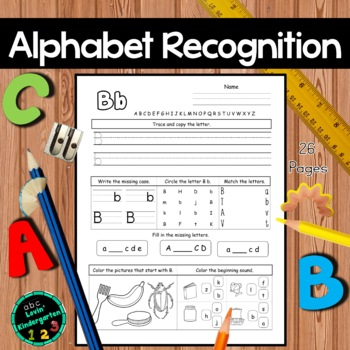 Alphabet Recognition October Morning Work