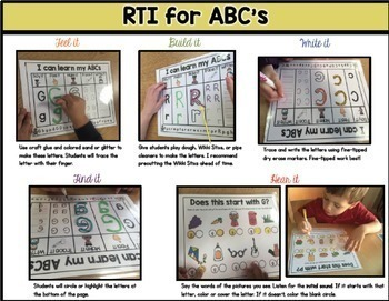 Alphabet Recognition: RTI for ABC's