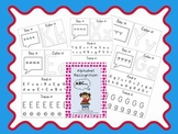 Alphabet Recognition Say, Color, Find, and Trace