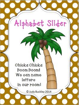 Chicka Chicka Boom Boom Alphabet Recognition Slider