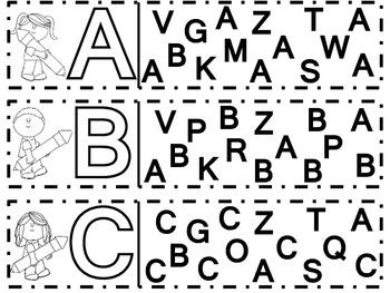 Alphabet Recognition & Sorting Mat Bundle