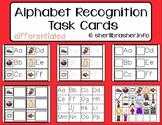 Alphabet Recognition Task Cards