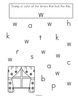 Stamp the Letters - Alphabet Recognition Printables for Preschool & Pre-K