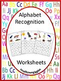 Alphabet Cut and Paste Alphabet Special Education Alphabet