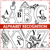 Alphabet Recognition and ABC or Letter Deconstruction with