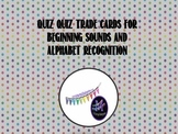 Alphabet Recognition and Letter Sound Flash Cards for quiz quiz trade