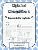 Alphabet Recognition for Kindergarten