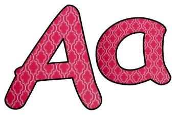 Alphabet Red Design