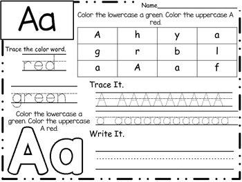 Alphabet Regonition