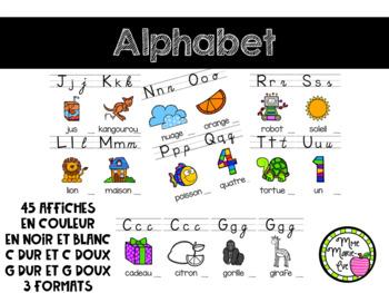 Alphabet - Rentrée scolaire (Back to School)