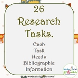 Research Project Activities  X 26 - Set 2