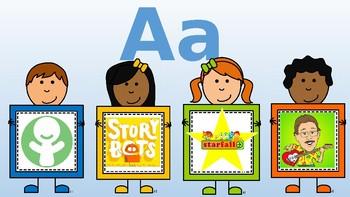 Alphabet Resources Freebie A-F