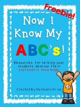 Alphabet Resources-Freebie!