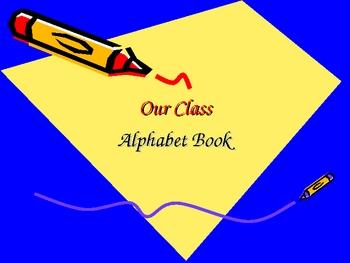 Alphabet Review Book
