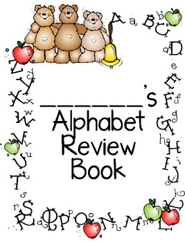 Alphabet Review Book