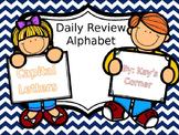 Alphabet Review... Capital Letters
