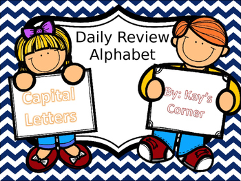 Alphabet Review... Capital Letters