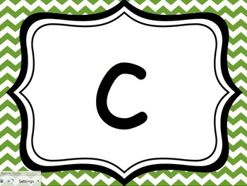 Alphabet Review... Capital and Lowercase Letters