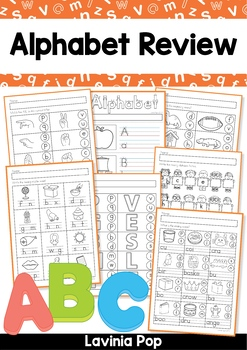 Alphabet & Letter Sounds Review No Prep