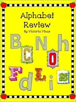 Alphabet Review Pack