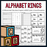 Alphabet Rings • A Differentiated Take-Home Program