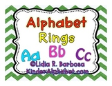 Alphabet Rings/Flashcards