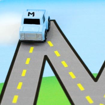 Alphabet Road Letter Formation Mats
