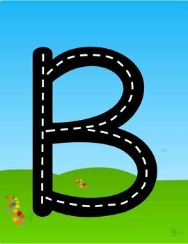 Alphabet Road Writers (Handwriting/ Print)