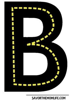 Alphabet Roads Uppercase