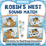 Alphabet - Robin's Nest File Folder Sound Match