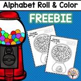 Alphabet Roll & Color Freebie - Bubblegum Theme!