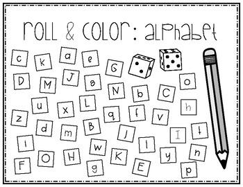 Alphabet Roll & Cover (FULL)