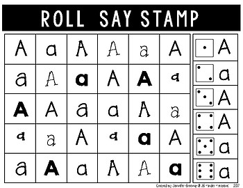 Alphabet Roll Say Cover