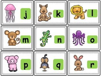 Alphabet Roll, Say, Keep !