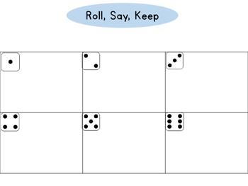 Alphabet Roll, Say, Keep (School)