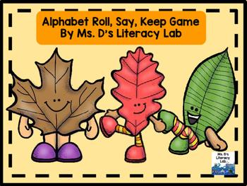 Alphabet Roll, Say, Keep ! (Autumn Leaves)