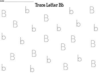 Alphabet Roll & Trace