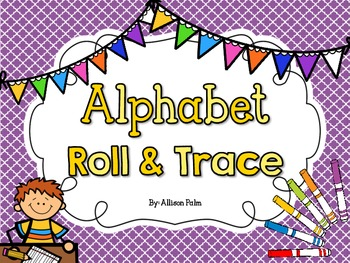 Alphabet Roll & Trace