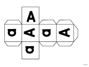 Alphabet Roll a Letter