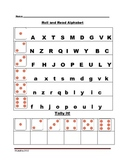 Alphabet  Roll and Read
