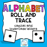 Alphabet Roll and Trace- Dice game- Distance Learning Game