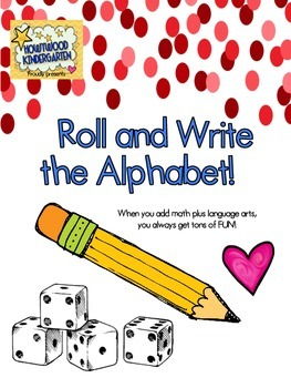 Alphabet Roll and Write