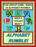 """Alphabet Rumble!"" - Letter Rhymes with a Steady Beat!"