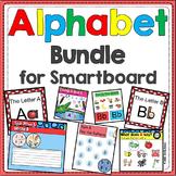 Alphabet -- SMARTBoard Activities BUNDLE (Letters, Smart Board)