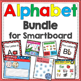 Alphabet -- SMARTBoard Activities BUNDLE (Letters, Smart Board)
