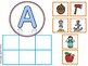Alphabet SORT Mats and Cards Uppercase